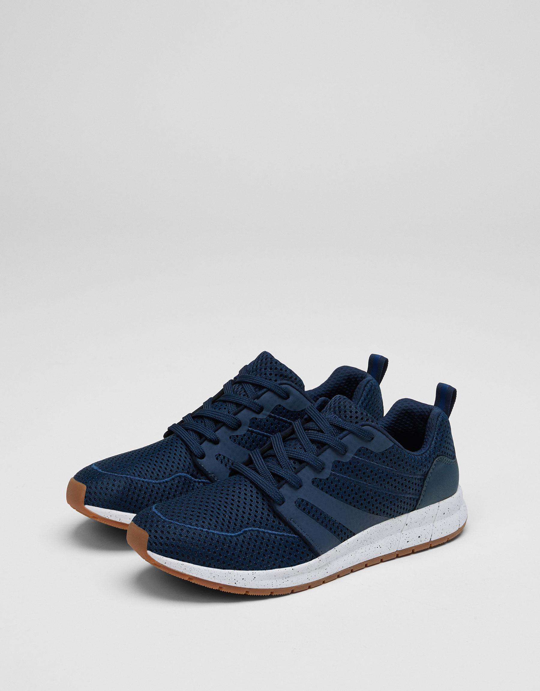 Retro mesh sneakers