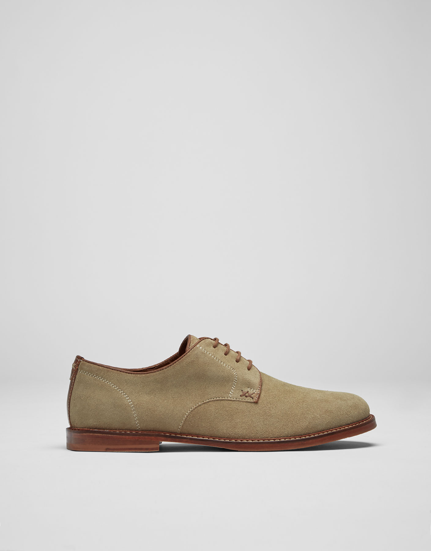 Smart split suede shoes