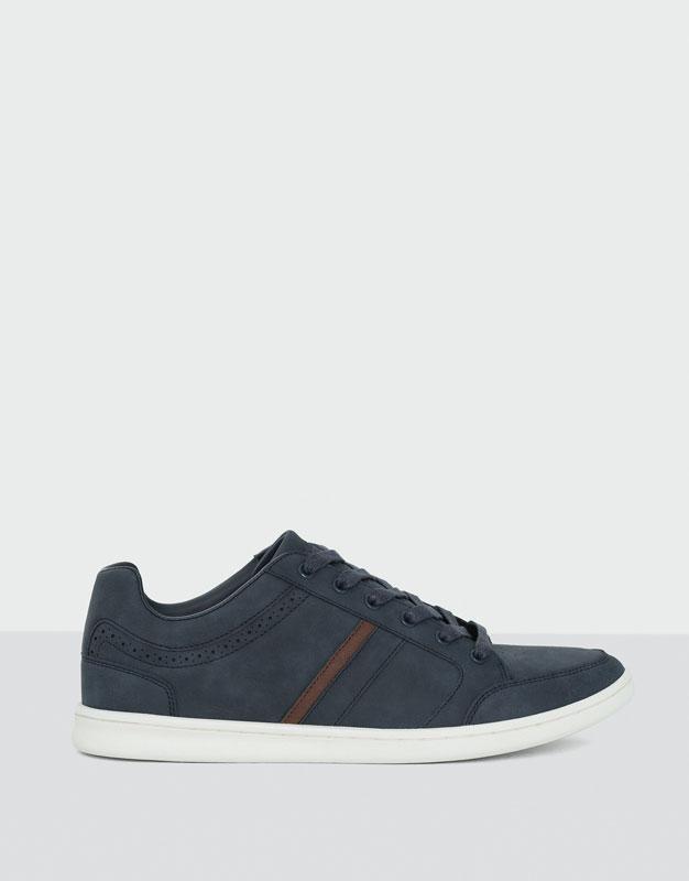 Basic semi-sporty sneakers