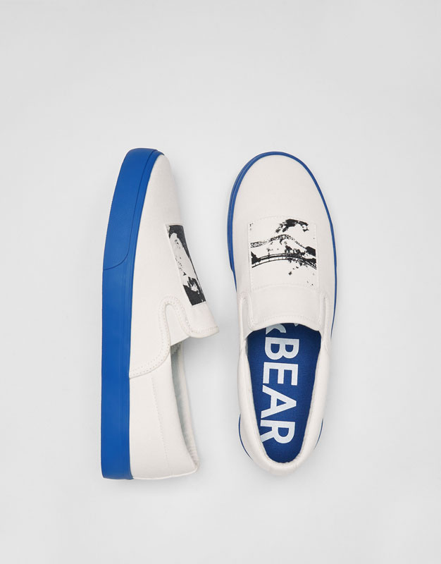 Patch slippers