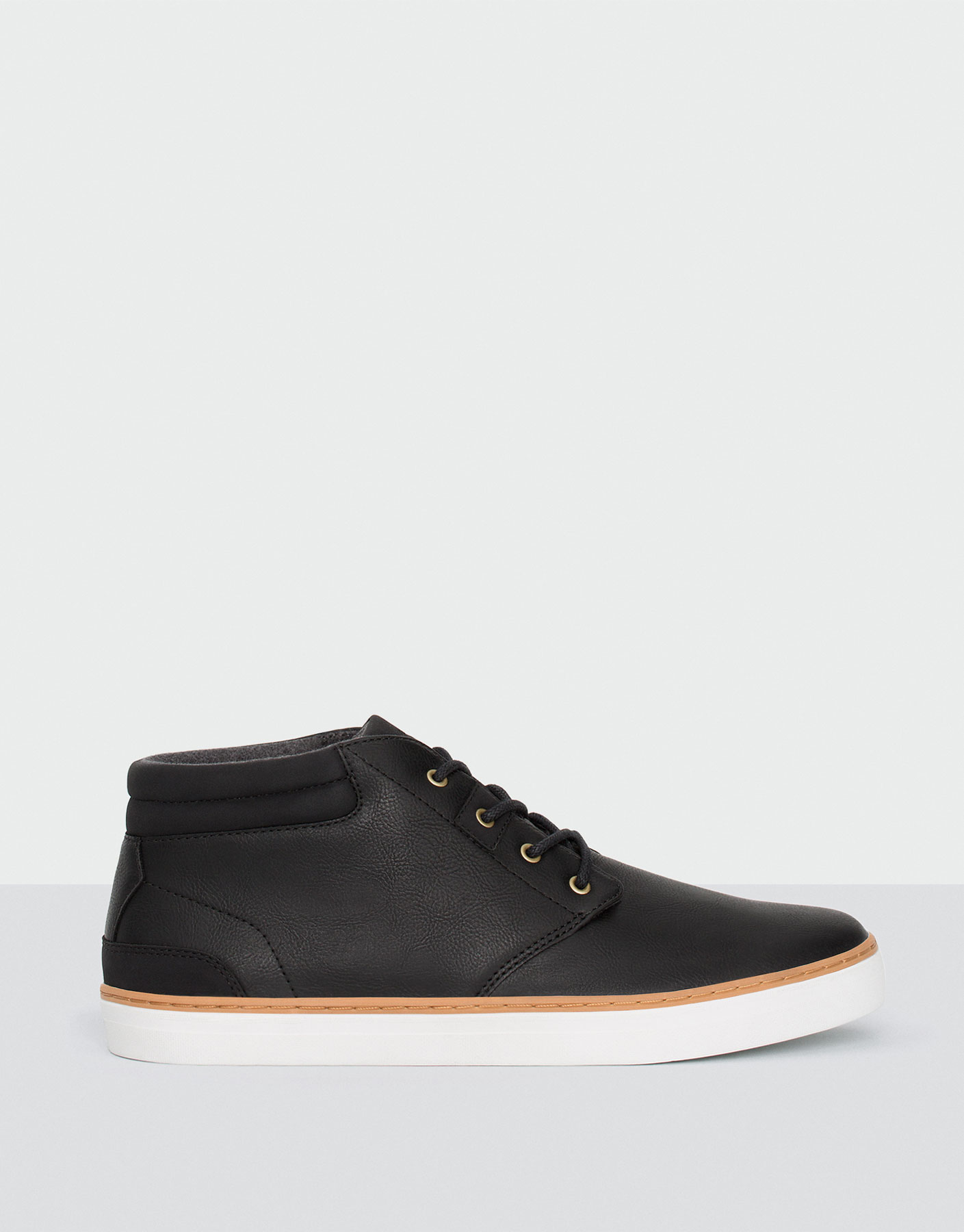 Felt lined ankle boots