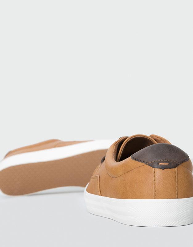 Beige elegante Sneaker