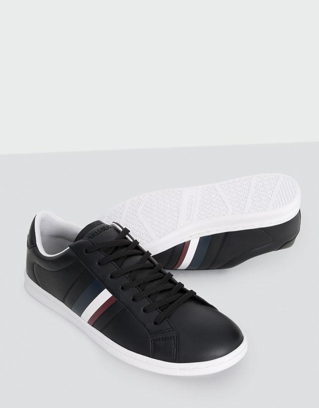 Chaussure mi-sport bande