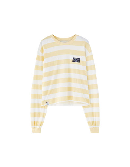 Pantín Classic yellow striped T-shirt