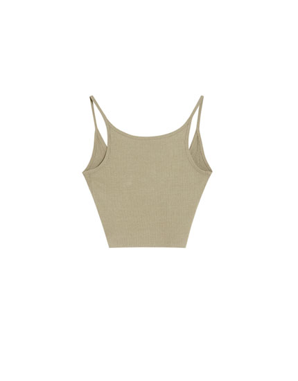 Basic top with thin straps