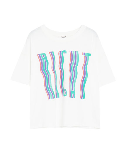 Camiseta manga corta waves