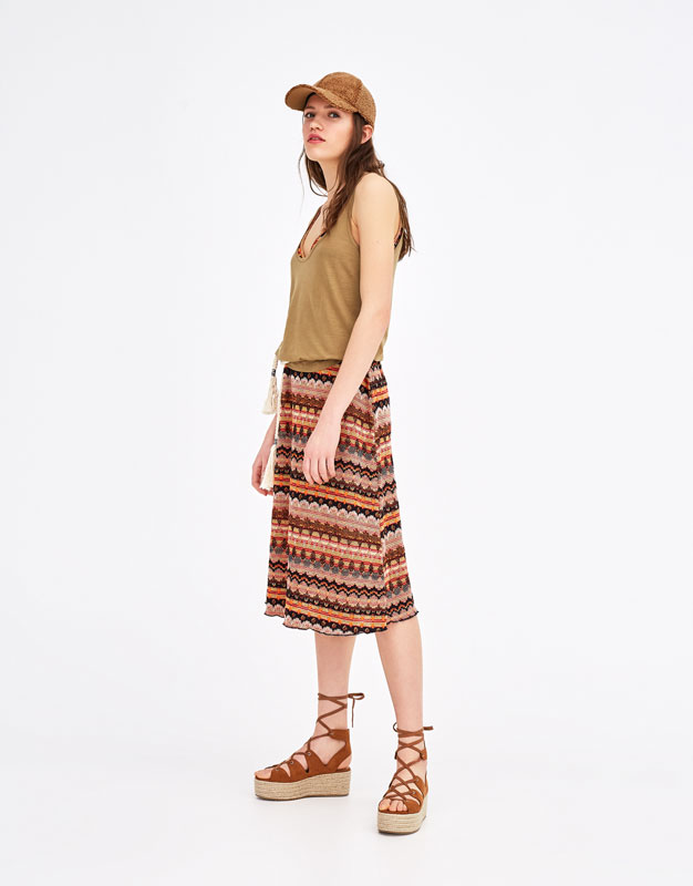 Pull & Bear - Basic oversized top with straps - 4