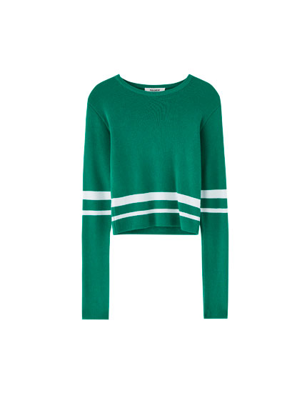 Pull court col rond