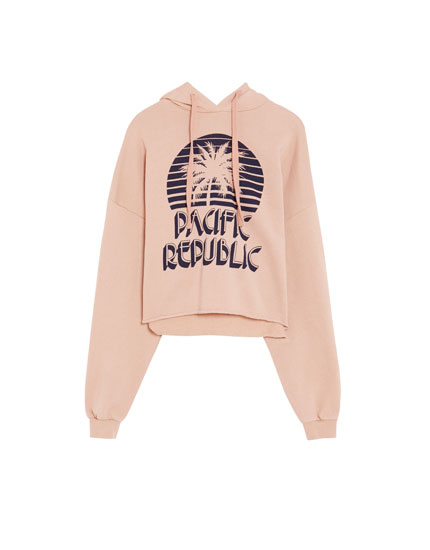 Pacific Republic Sweatshirt mit Kapuze