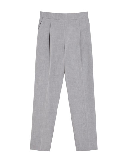 Tailored basic trousers
