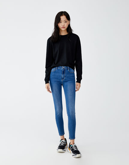 Highwaist super skinny fit jeans