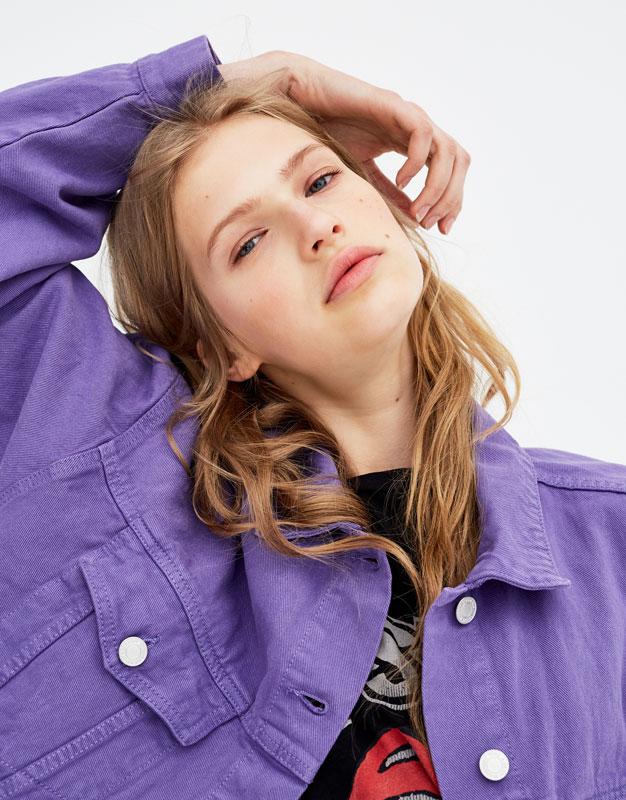 Базовая джинсовая куртка by Pull & Bear