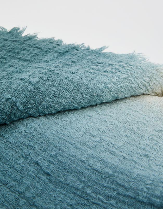 Pull & Bear - Zweifarbiges Halstuch aus Baumwolle - 3