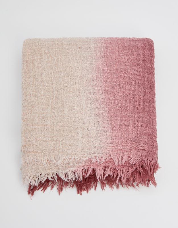 Pull & Bear - Zweifarbiges Halstuch aus Baumwolle - 1