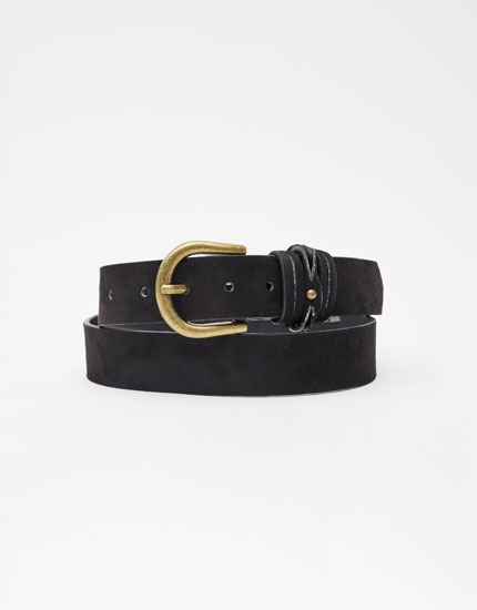 Belt with loop detail
