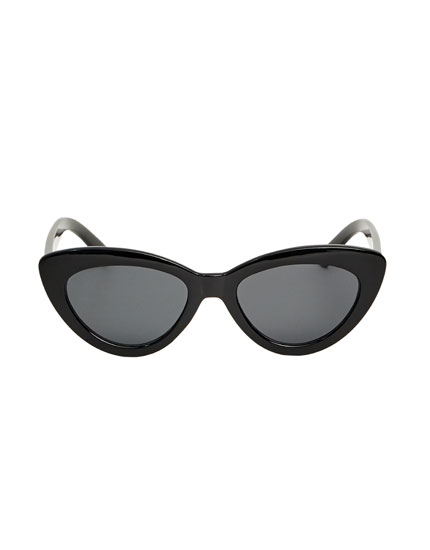 Gafas de sol cat eye negras