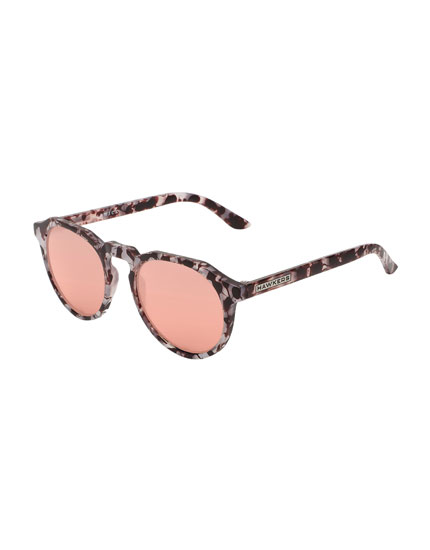 Hawkers Carey Grey Rose Gold Warwick Sunglasses