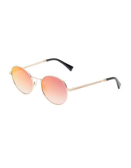 Hawkers Gold Red Gradient Moma Sunglasses