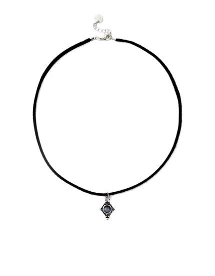 Silver motif pendant