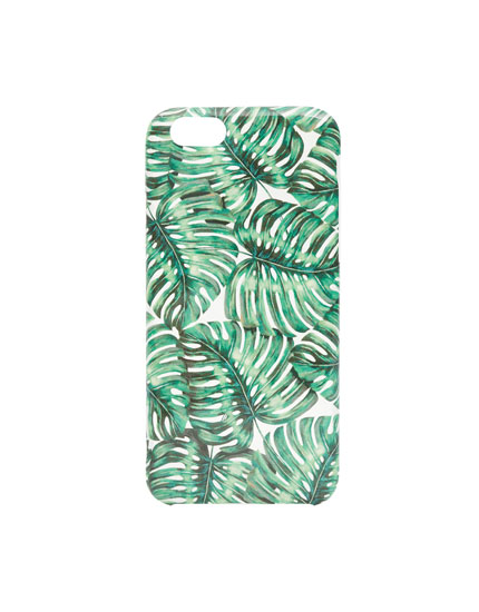 Jungle print phone case
