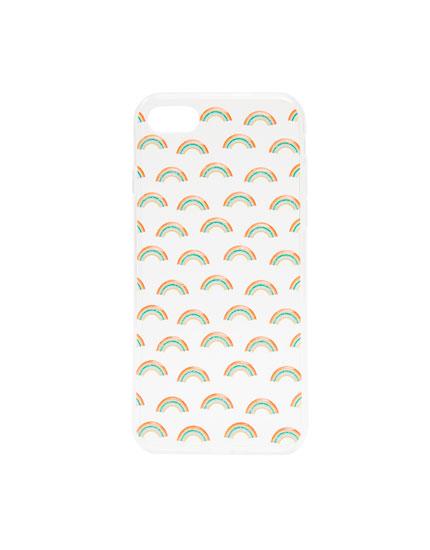 Rainbow smartphone case