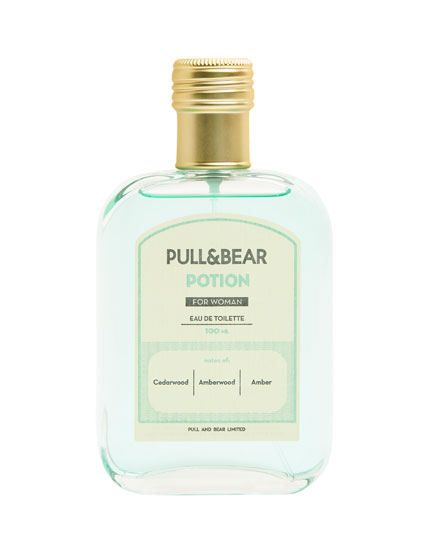 Eau de toilette pull & bear potion woman 100 ml
