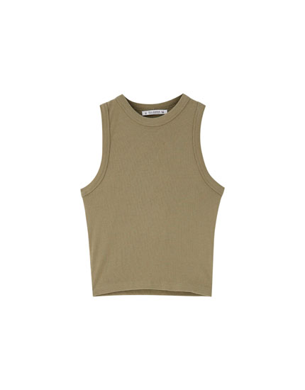 Basic halterneck top