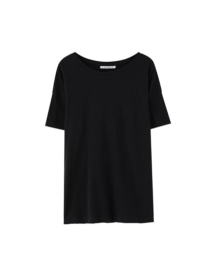 Basic cotton T-shirt