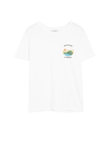 Vintage sun T-shirt