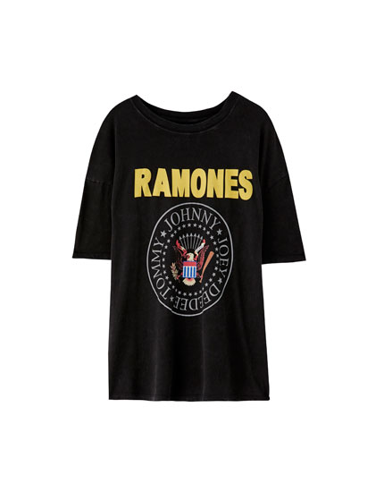 'The Ramones' logo T-shirt