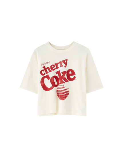 "Tricou ""Cherry Coke"""