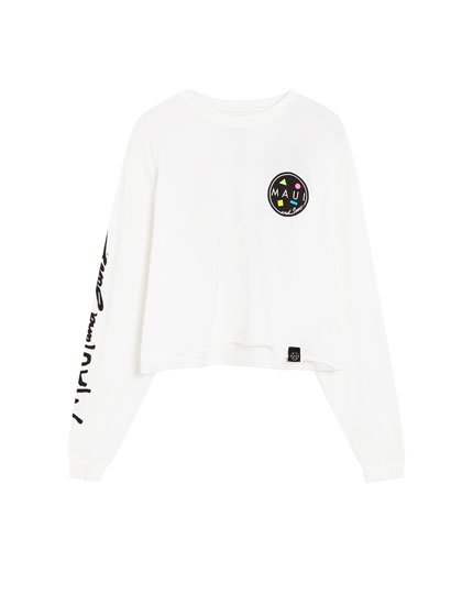 Long sleeve 'Maui & Sons' T-shirt