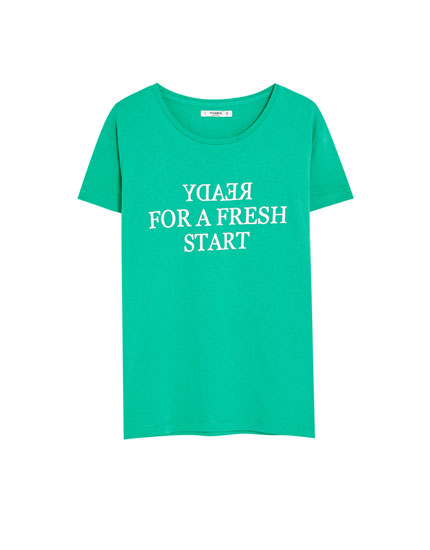 T-shirt basic message