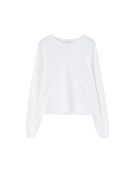 Basic long sleeve T-shirt