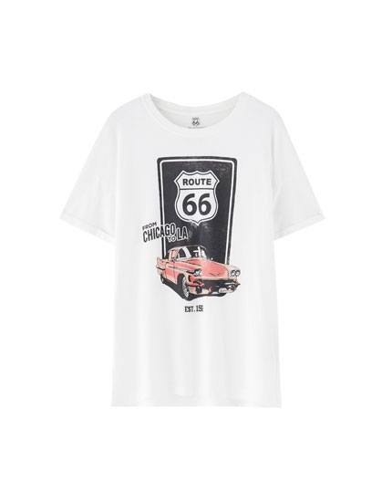 Playera Route 66