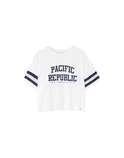 "Tricou ""Pacific Republic"""