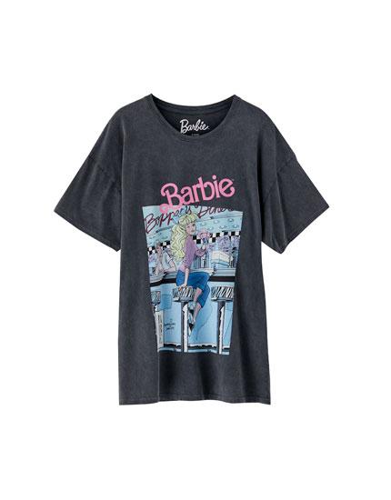 Camiseta Barbie print pecho