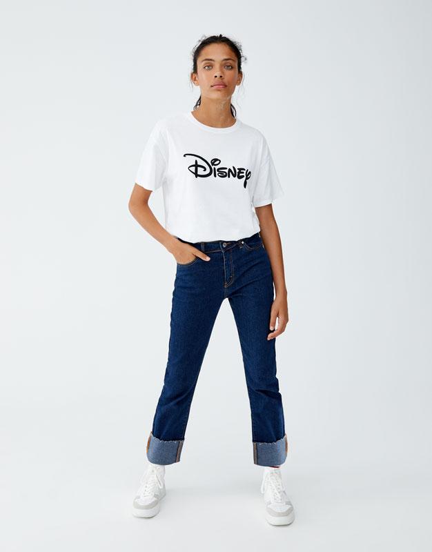 T Shirt Disney Logotyp by Pull & Bear