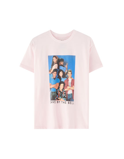 T-shirt 'Saved by the Bell'
