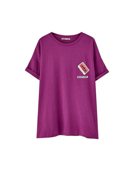 T-shirt manches courtes cassette