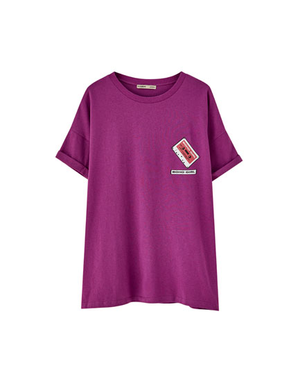 T-Shirt mit Kassette