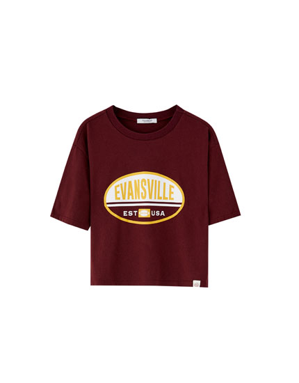 """Tricou """"Evansville"""""""