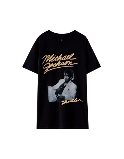 T-shirt Michael Jackson photo