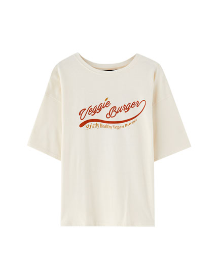 Katoenen T-shirt met graphic