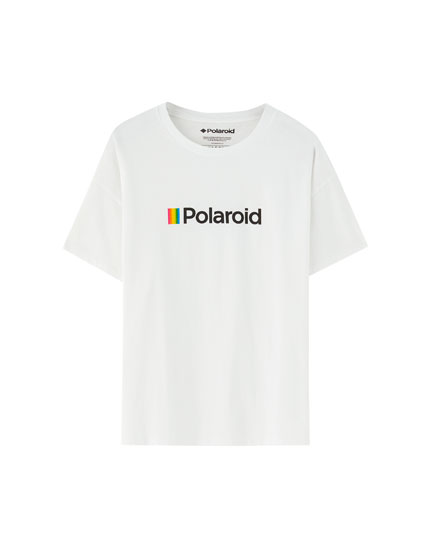 Short sleeve Polaroid T-shirt