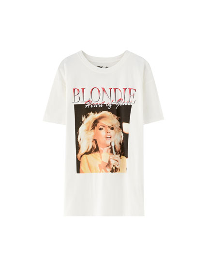 T-shirt dos Blondie