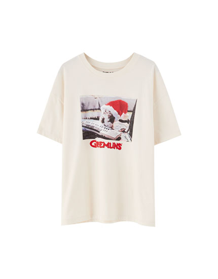 Gremlins Shirt mit Weihnachtsmotiv