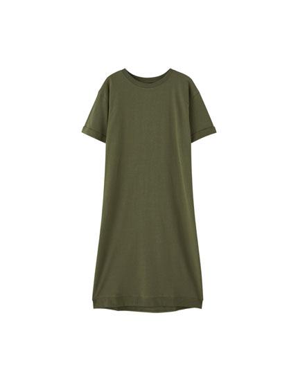 Camiseta bajo desigual