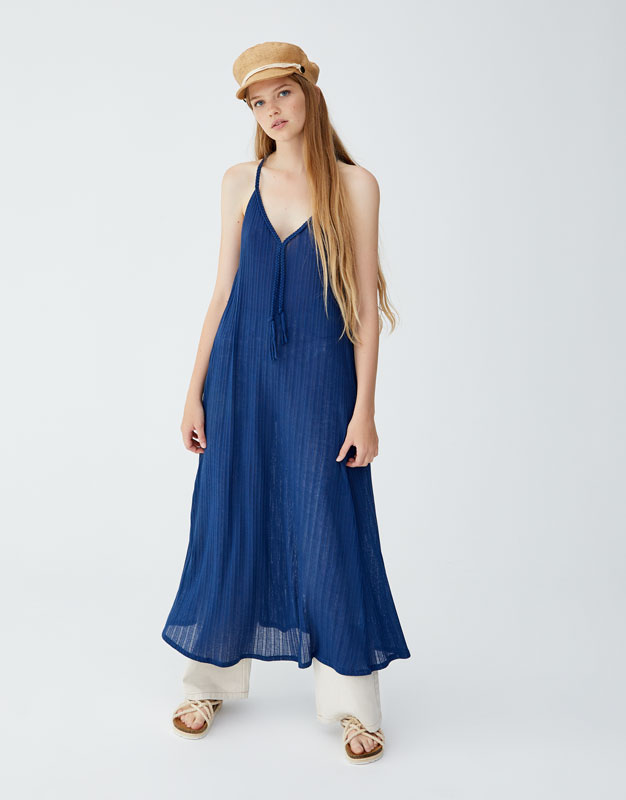 Pull & Bear - Dress with braided straps - 1