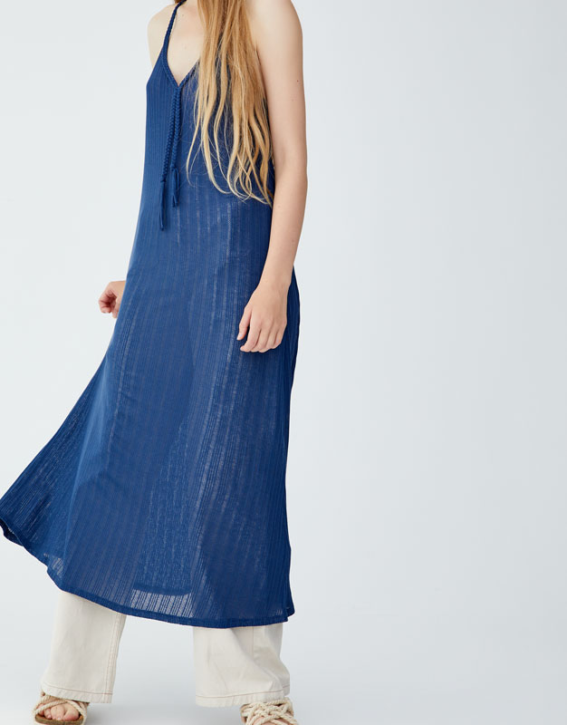 Pull & Bear - Dress with braided straps - 2